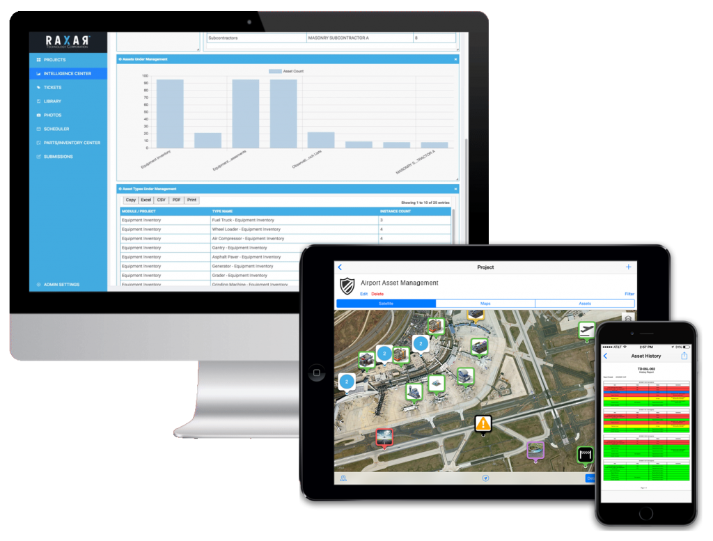 airport asset management software
