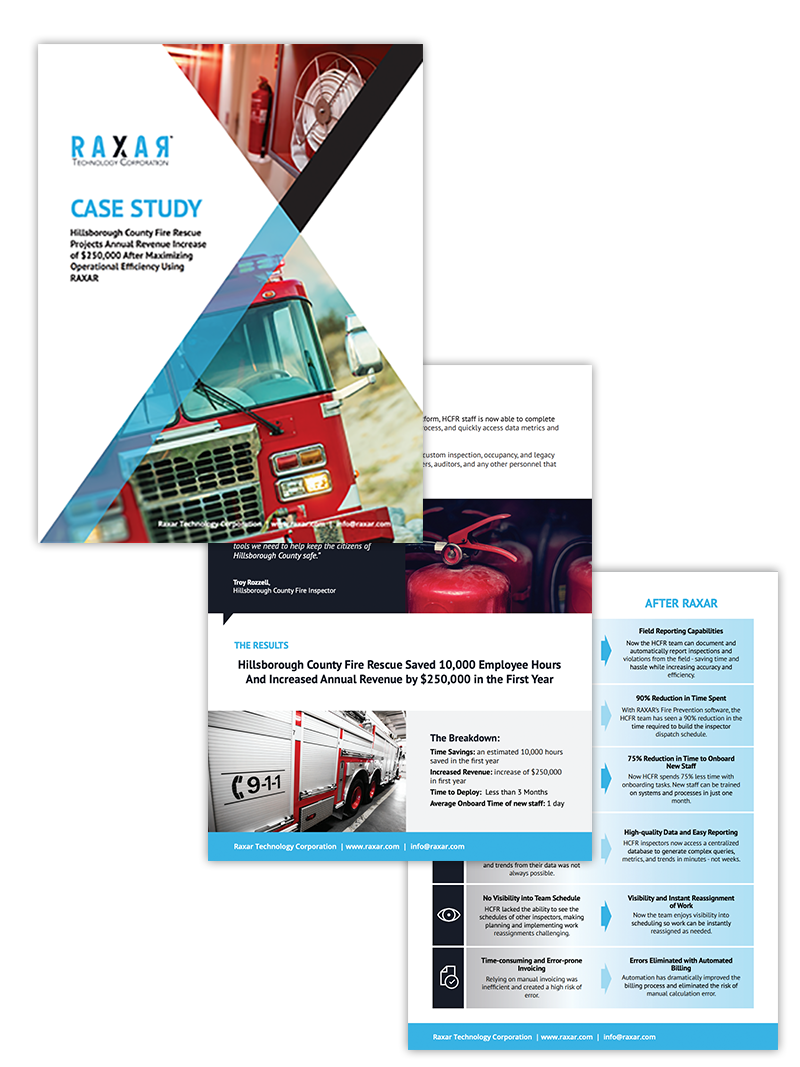 fire department software case study preview