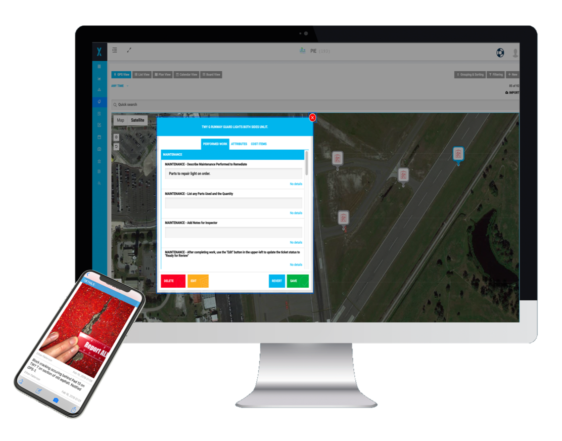 Airfield Maintenance Software solution