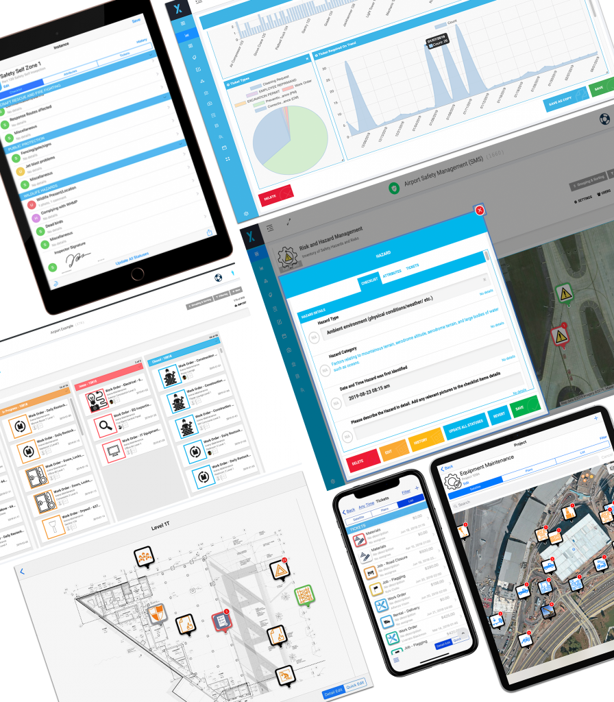 Airport management software platform