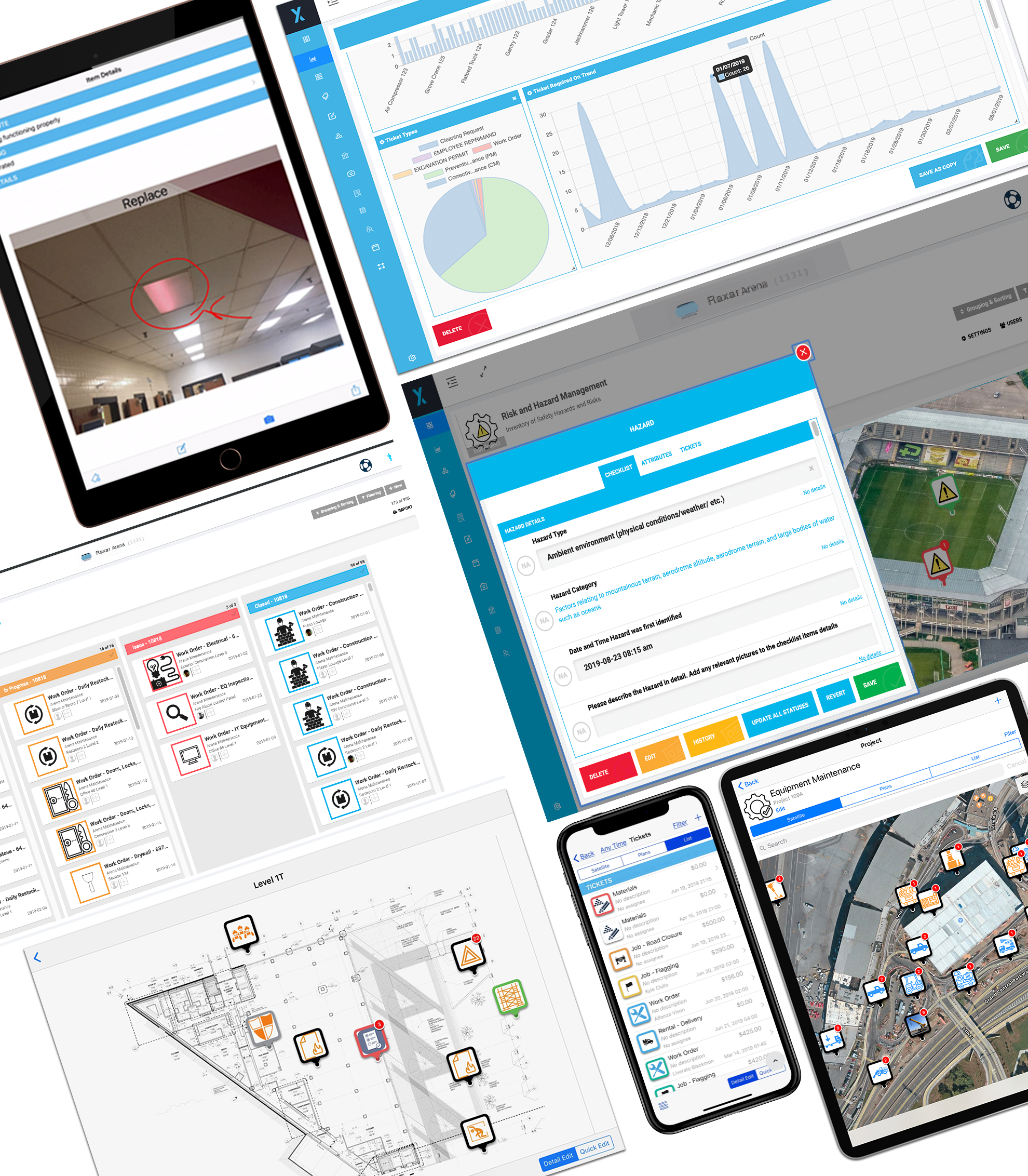 Arena and Stadium management software platform
