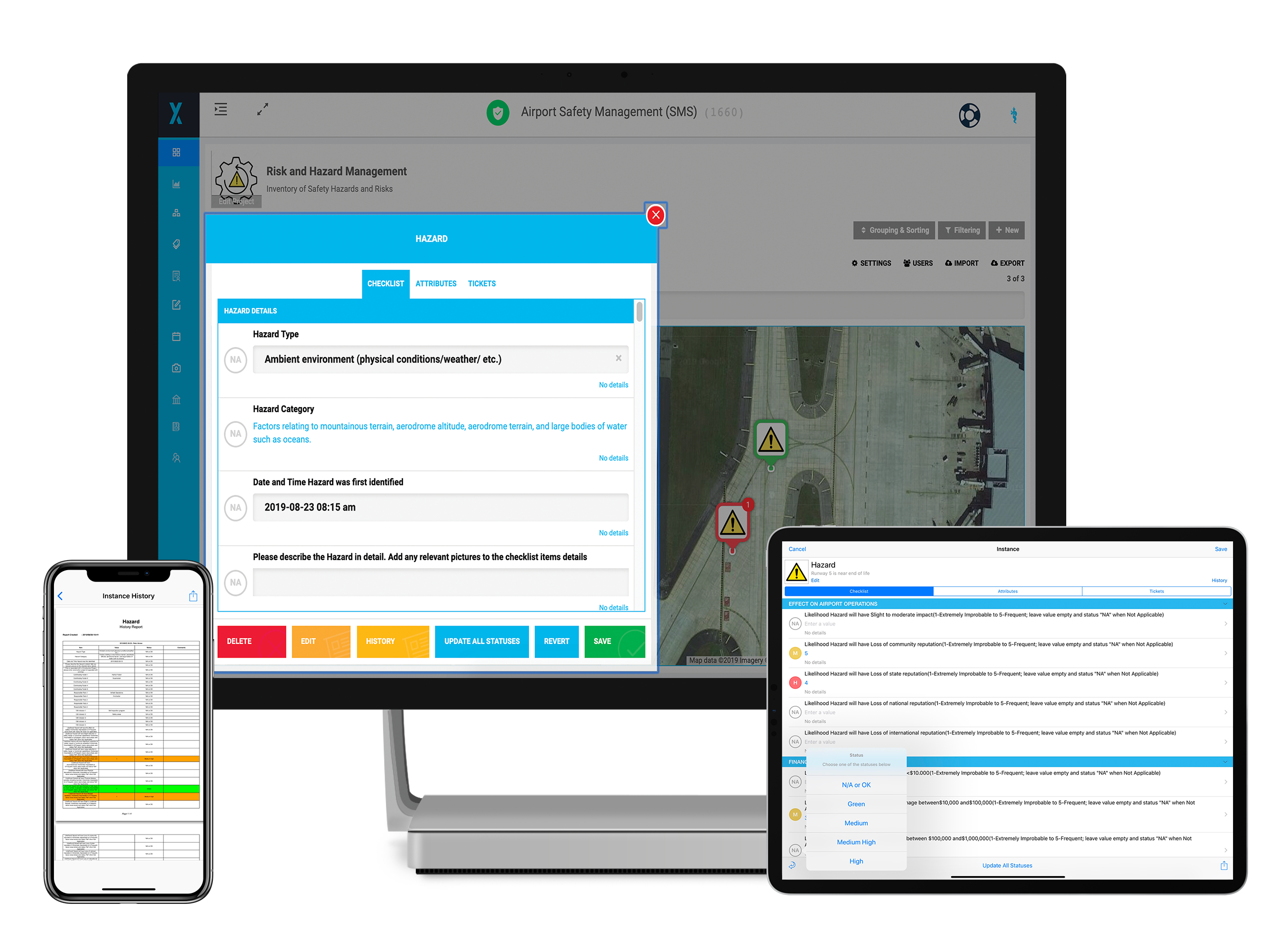 Airport Safety management system software solution